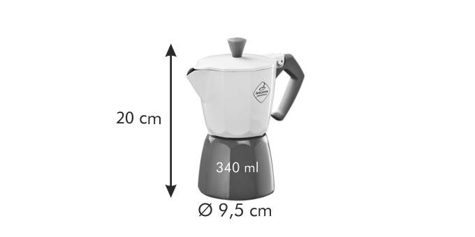 Tescoma PALOMA Tricolore kávovar 6 šálků