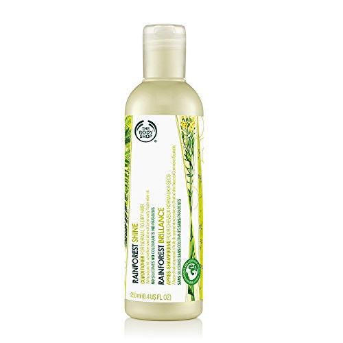 Fotografie The Body Shop Kondicionér pro lesk vlasů (Rainforest Shine Conditioner) 250 ml