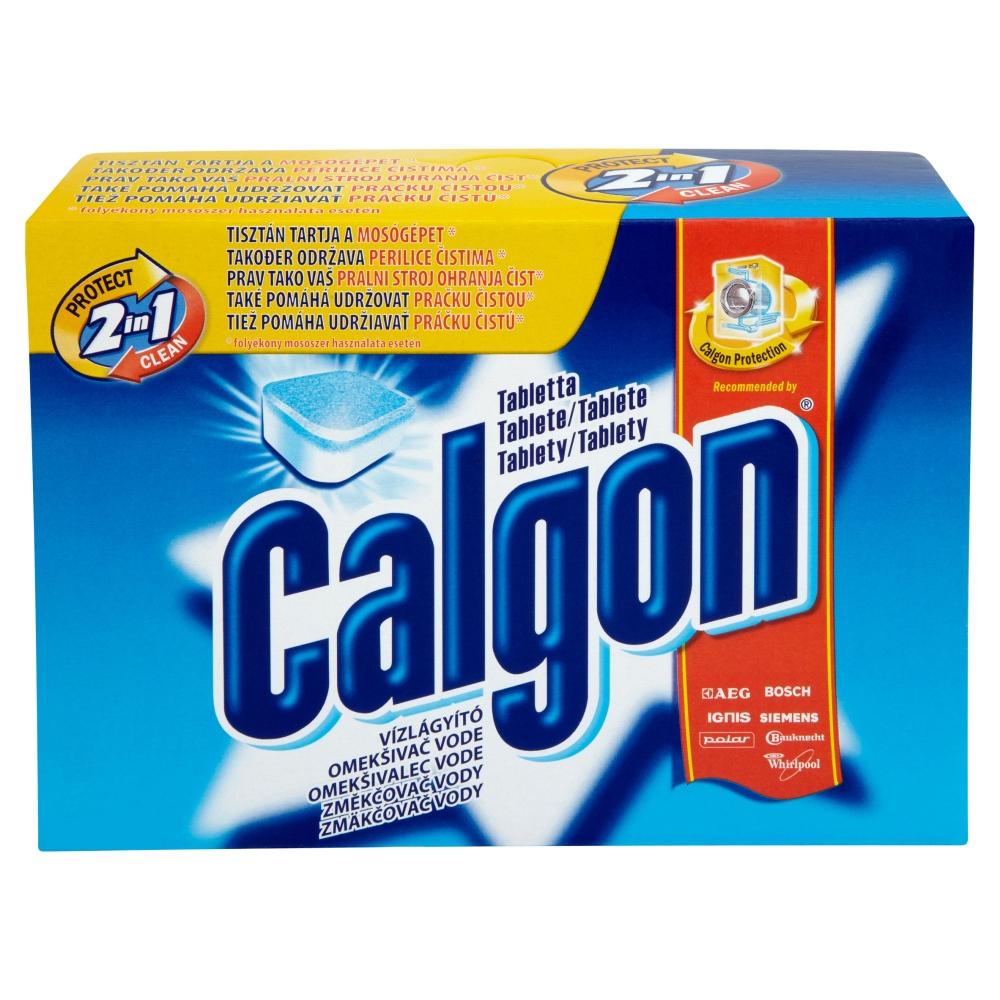 Calgon 2v1 změkčovač vody do pračky v tabletách 15 ks