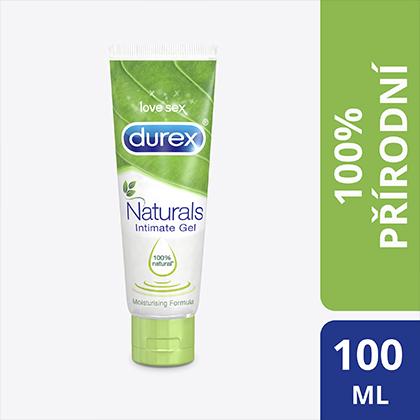 Fotografie Durex Naturals Intimgel intimní lubrikační gel 100 ml
