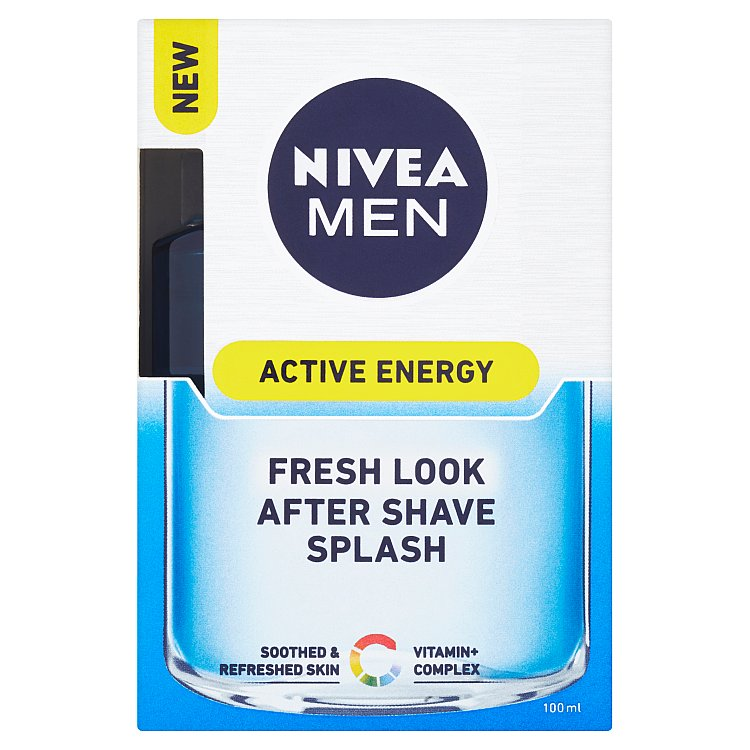 Nivea Men Active Energy osvěžující voda po holení 100 ml