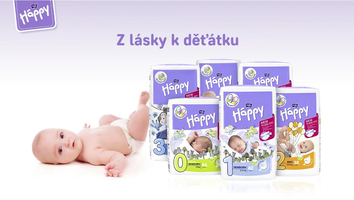 Bella Baby Happy plenky 4+ Maxi plus (9 - 20 kg) 44 ks
