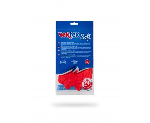 E-shop Vektex Soft Rukavice úklidové, velikost S 1 ks