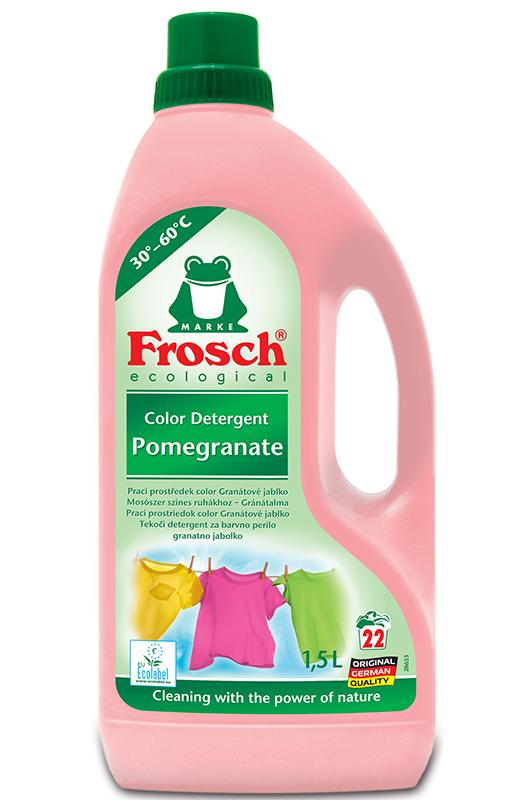 Frosch Granátové jablko EKO prací prostředek na barevné prádlo 1,5 l