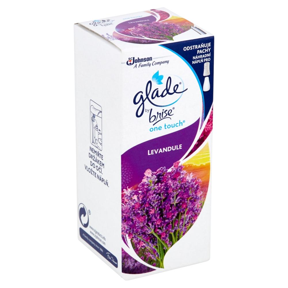 Glade by Brise One Touch Levandule osvěžovač vzduchu náplň 10 ml