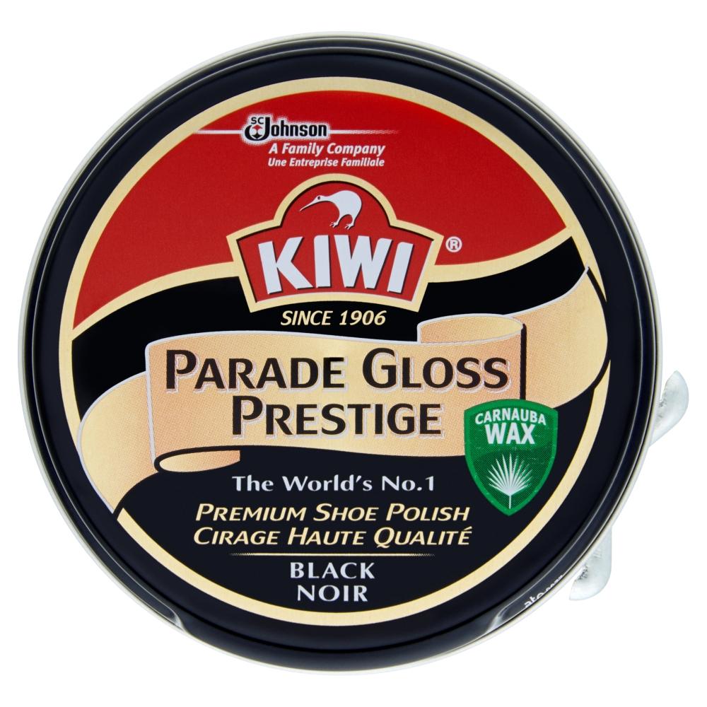 Kiwi Parade gloss prestige krém na obuv černý 50 ml