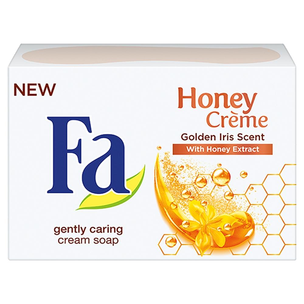 Fotografie Fa Honey Creme toaletní mýdlo 90 g
