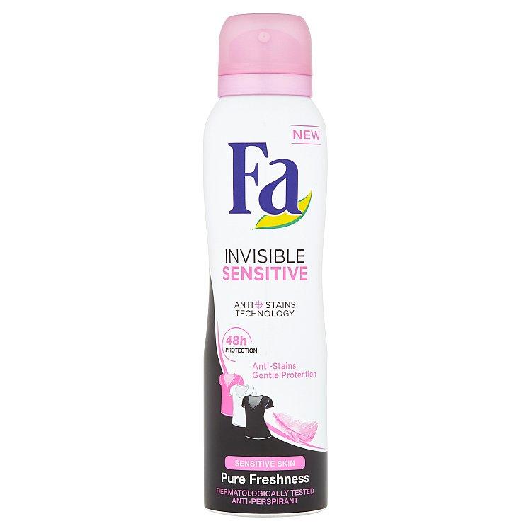 Fa Invisible Sensitive antiperspirant ve spreji 150 ml