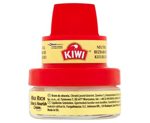 Kiwi Shine   Nourish Cream krém na obuv s houbičkou bezbarvý 50 ml 7ab027da6e