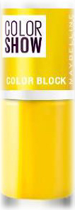 Fotografie Maybelline Color Show lak na nehty 488 Yellow