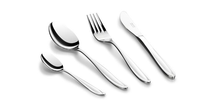 Tescoma SCARLETT jídelní příbor souprava 24 ks