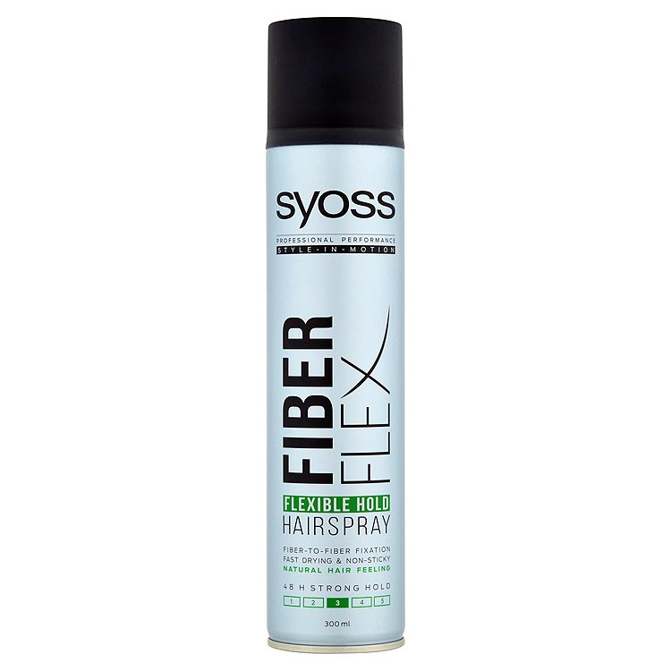 Syoss Fiber Flex Hold lak na vlasy 300 ml