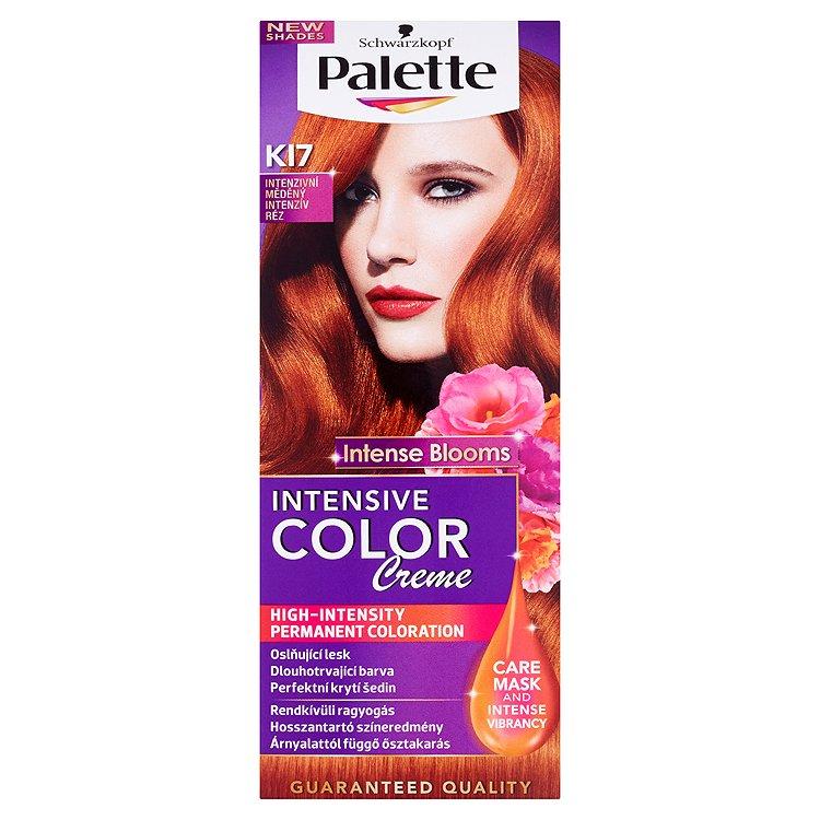 Schwarzkopf Palette Intensive Color Creme barva na vlasy KI7 Intenzivní měděný, 50 ml