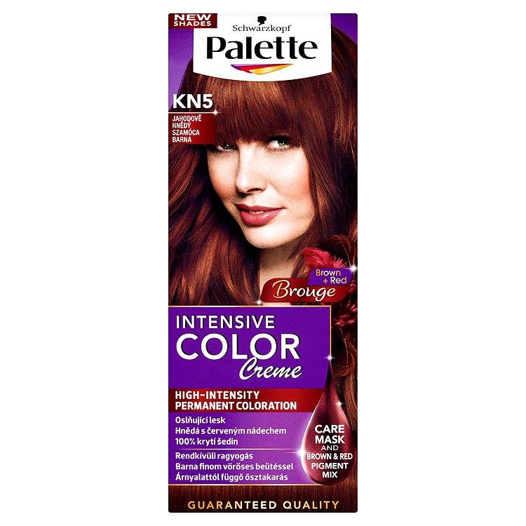 Schwarzkopf Palette Intensive Color Creme barva na vlasy KN5 Jahodově hnědý, 50 ml