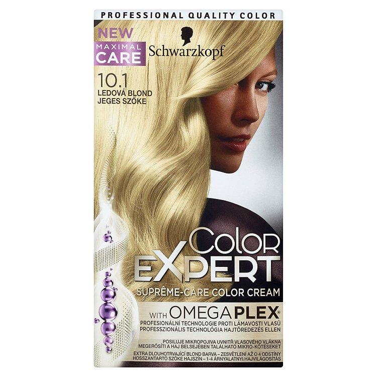 Schwarzkopf Color Expert barva na vlasy 10.1 Ledová blond, 50 ml