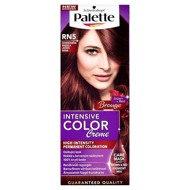Schwarzkopf Palette Intensive Color Creme barva na vlasy RN5 Červenohnědá, 50 ml