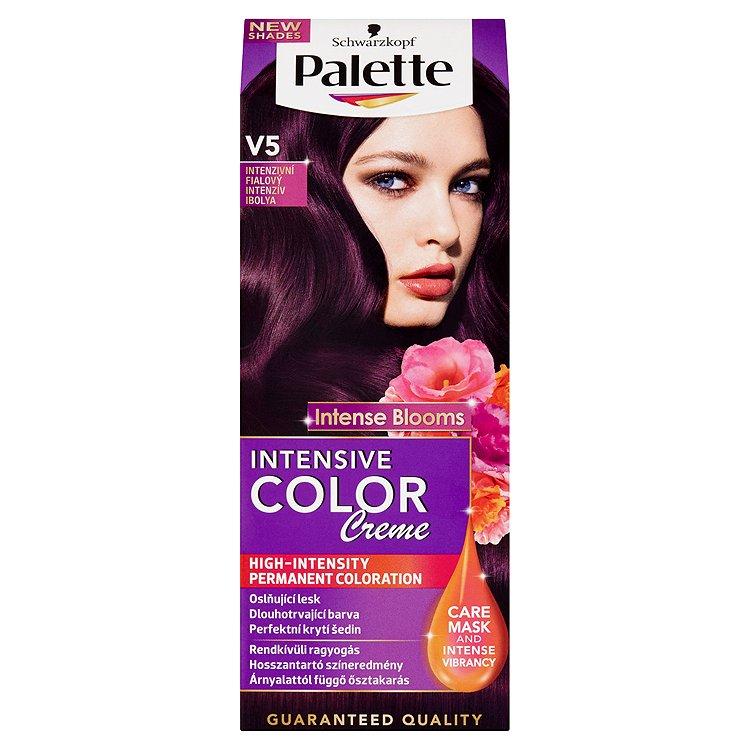 Schwarzkopf Palette Intensive Color Creme barva na vlasy V5 Intezivní fialový, 50 ml