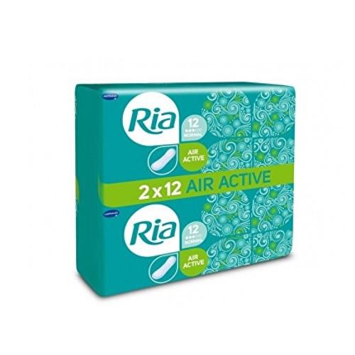 Fotografie Ria Dámské hygienické vložky bez křidélek Air Active Normal Duopack 24 ks
