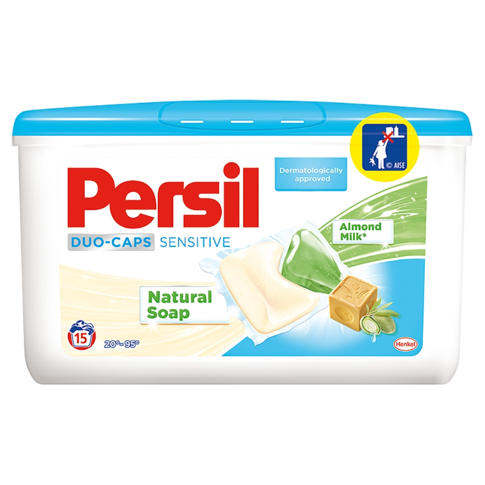 Persil DuoCaps Sensitive Box tablety, 15 praní 15 ks