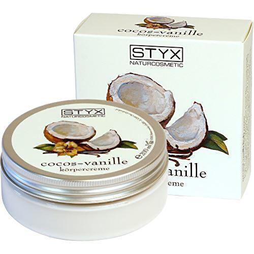 Fotografie Styx tělový krém s tropickou vůní kokosu a vanilky 200 ml