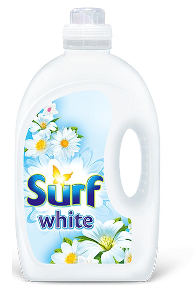 Surf White prací gel White Orchid & Jasmine, 70 praní 4,9 l