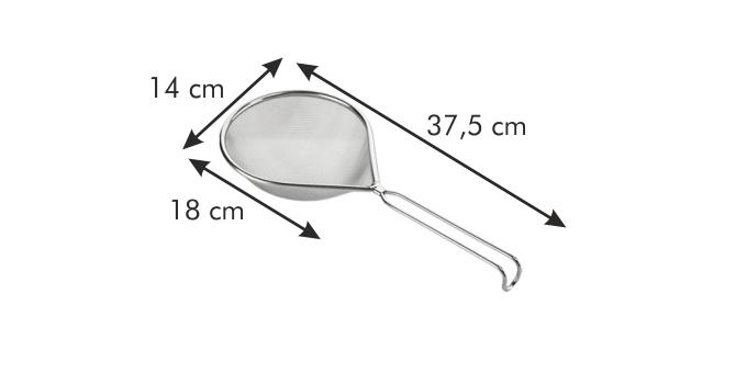 Tescoma GrandCHEF sítko podlouhlé 14 x 18 cm