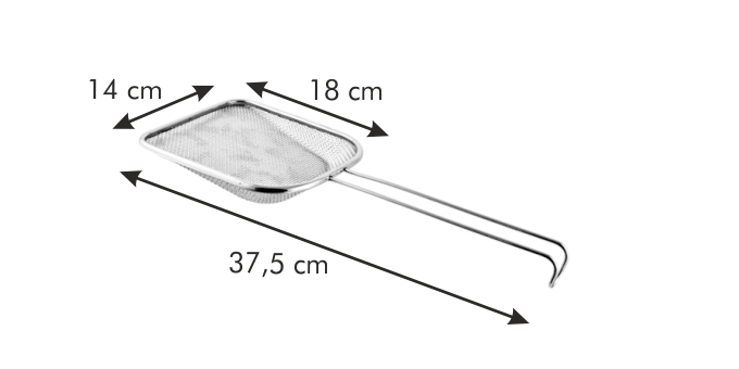 Tescoma GrandCHEF sítko lopatka 14 x 18 cm