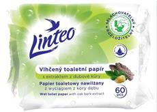 Linteo Satin vlhčený toaletní papír s dubovou kůrou 60 ks