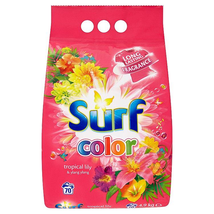 Surf Color Tropical prací prášek Tropical Lily & Ylang Ylang, 70 praní 4,9 kg