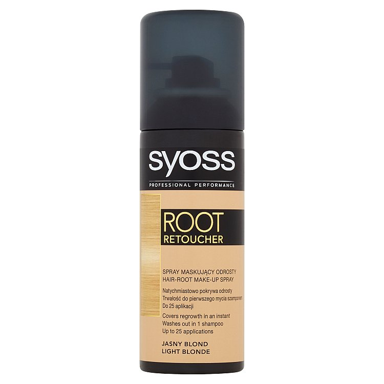 Syoss Root Retoucher korektor odrostlých vlasů světle plavý, 120 ml
