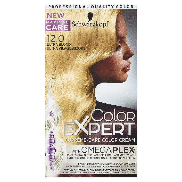 Schwarzkopf Color Expert barva na vlasy 12.0 Ultra blond, 50 ml
