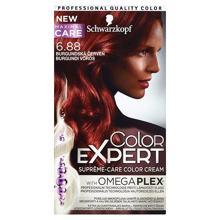 Schwarzkopf Color Expert barva na vlasy 6.88 Burgundská červeň, 50 ml