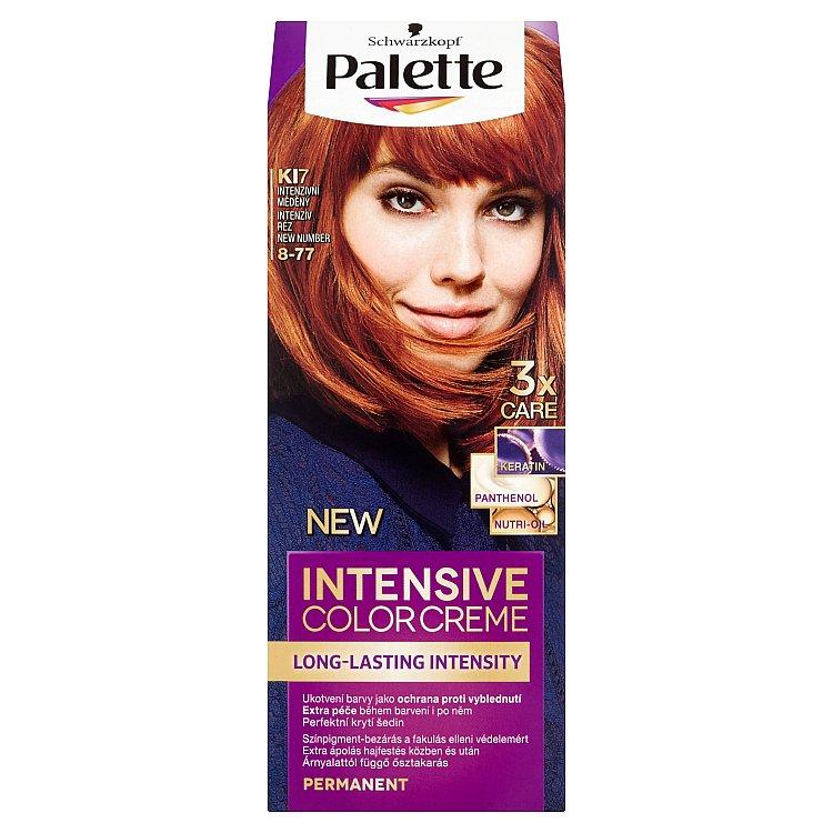 Fotografie Schwarzkopf Palette Intensive Color Creme barva na vlasy K17 Intenzivní měděný