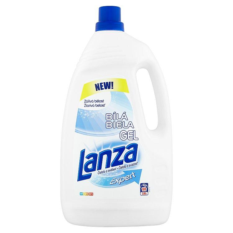 Lanza Expert White tekutý prací prostředek, 60 praní 3,96 l