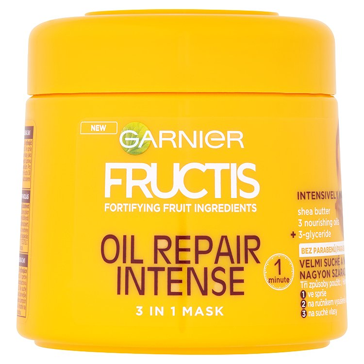 Fructis Oil Repair Intense maska na vlasy 3 v 1 300 ml