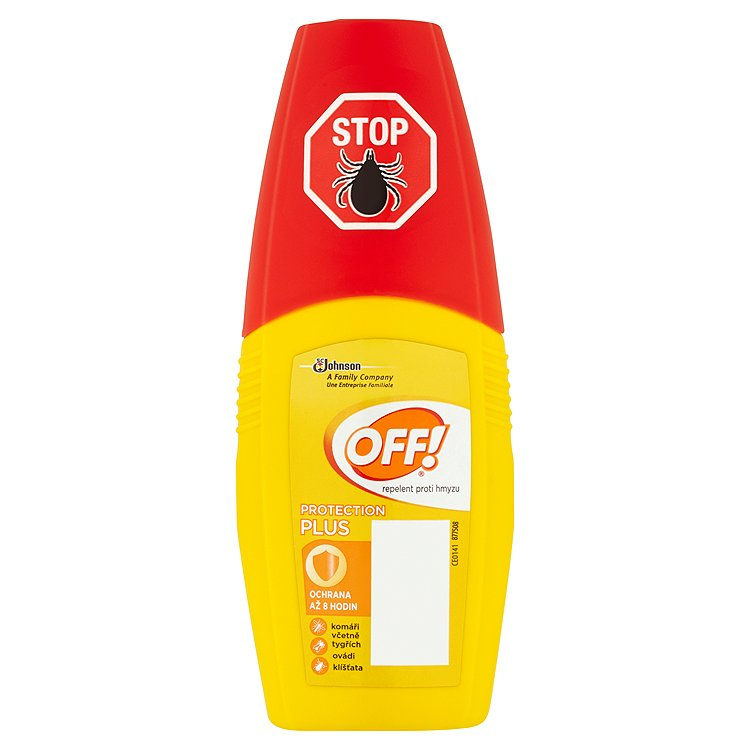 OFF! Protection Plus repelent s rozprašovačem 100 ml