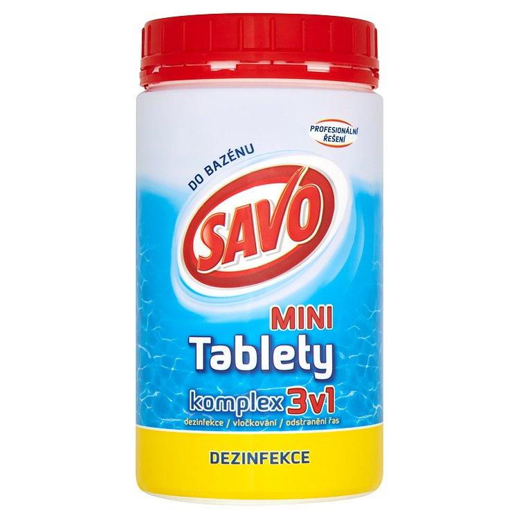 Savo chlorové tablety mini komplex 3v1 0,8 kg