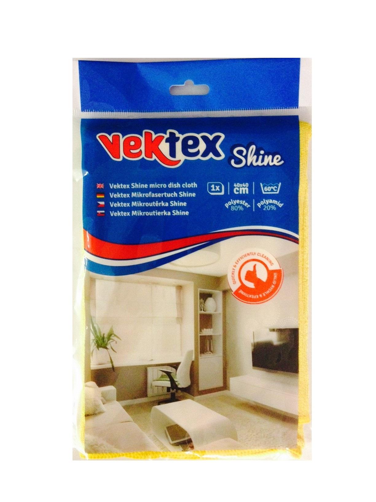 Vektex Shine utěrka z mikrovlákna 40 x 40 cm 210 g