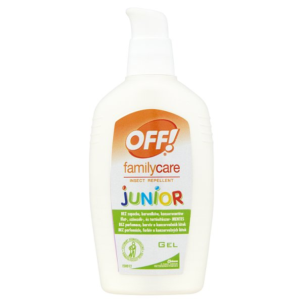 OFF! Family Care Junior repelentní gel 100 ml