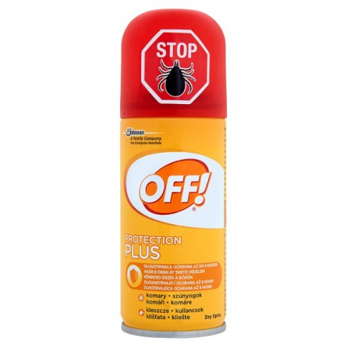 OFF! Protection Plus rychleschnoucí sprej 100 ml