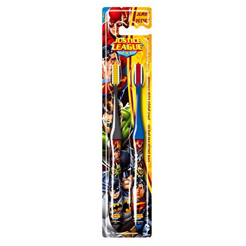 Fotografie VitalCare DUO zubní kartáček s krytkou Batman a Superman
