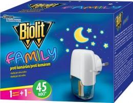 Biolit FAMILY elektrický odpařovač s tekutou náplní, 45 nocí 1 + 27 ml