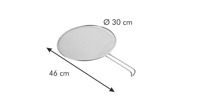 Tescoma ochranné síto GrandCHEF průměr 30 cm