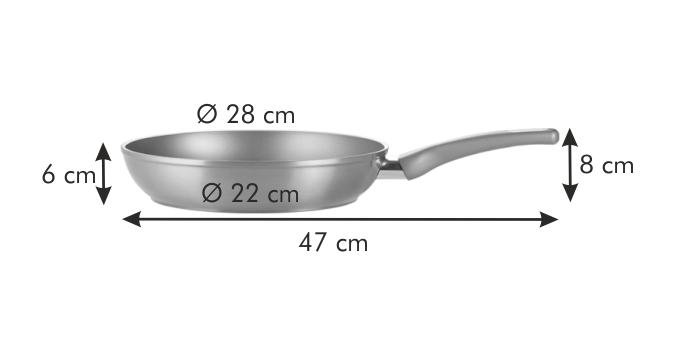 Tescoma pánev AMBER průměr 28 cm