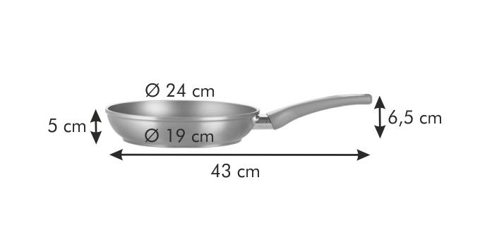 Tescoma pánev AMBER průměr 24 cm