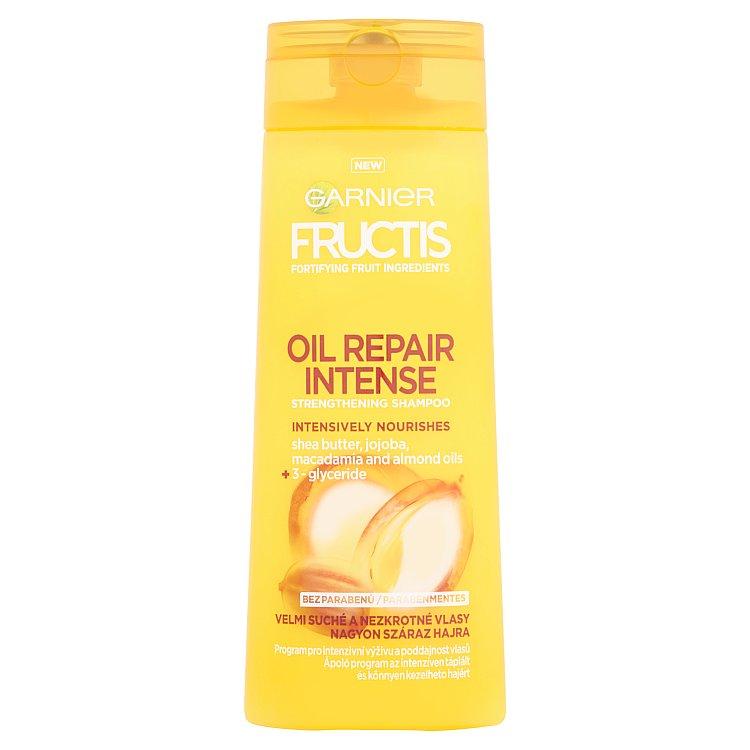 Fotografie Garnier Posilující šampon pro velmi suché vlasy Fructis (Oil Repair Intense Strengthening Shampoo) 2