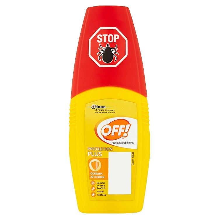 OFF! Protection Plus repelent s rozprašovačem 100 ml