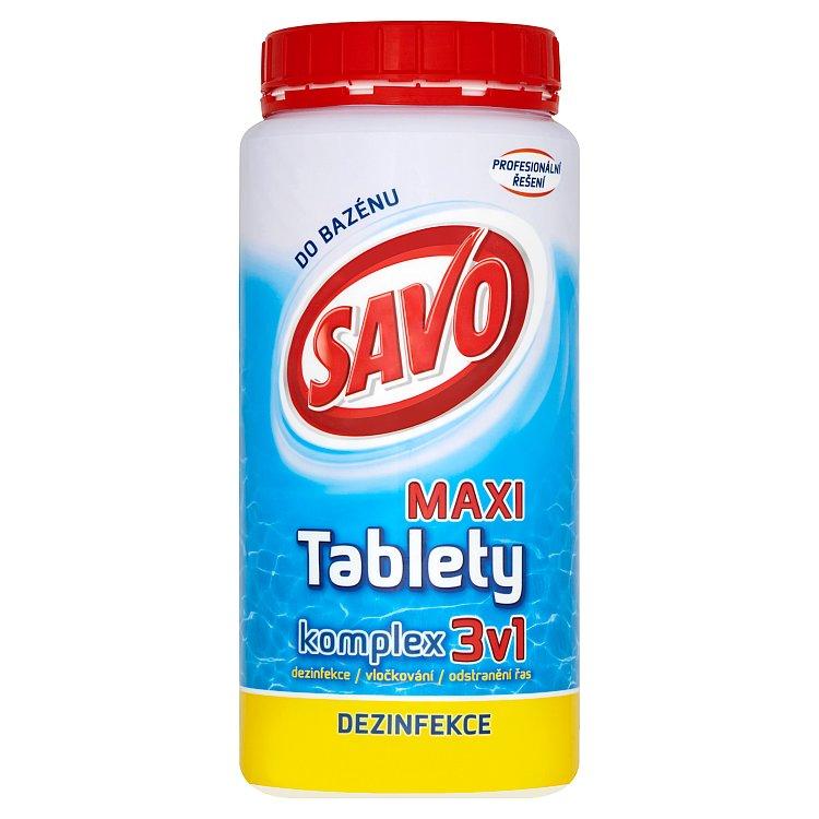 Savo chlorové tablety maxi komplex 3v1 1,4 kg