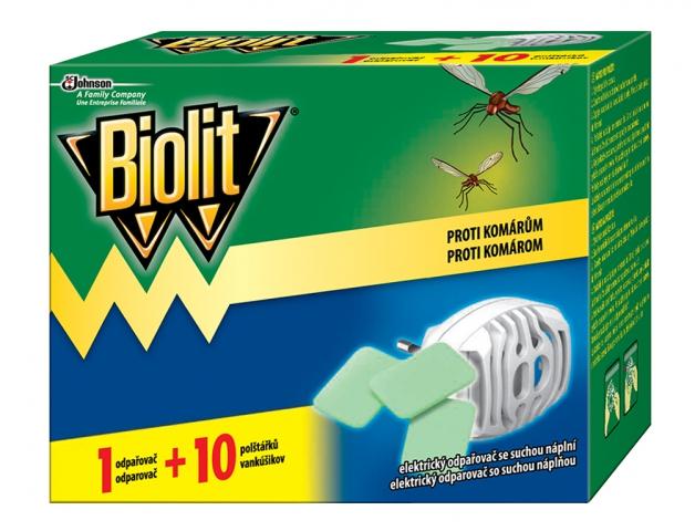 Biolit elektrický odpařovač se suchou náplní 10 ks