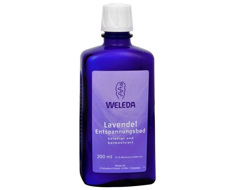 Weleda zklidňující levandulová koupel 200 ml